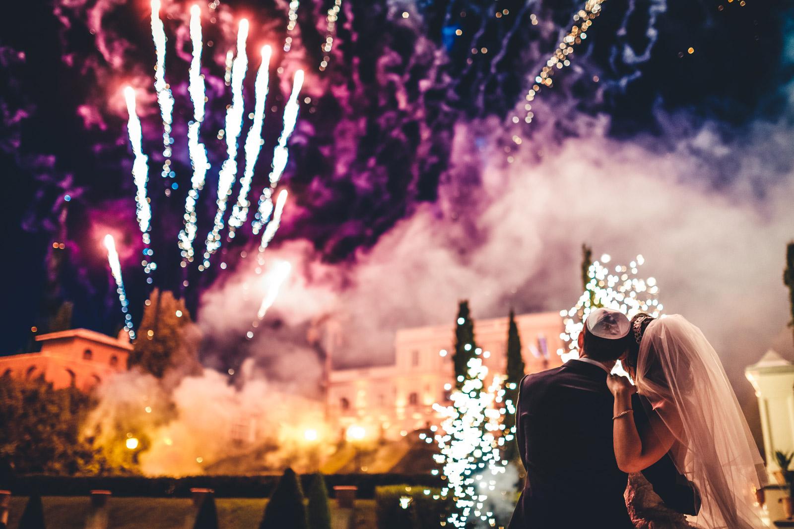 fotografo matrimonio vicenza festa fuochi d'artificio